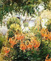 Tiger Lilies, c.1899, twachtman