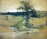 Tree by a Road, 1889, twachtman