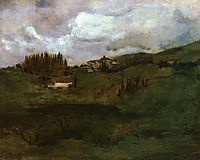 Tuscan Landscape, twachtman