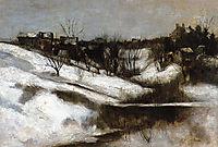 Twachtman-s Home, Avondale, Ohio, c.1882, twachtman