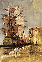 Venetian Sailing Vessel, 1878, twachtman