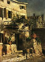 A Venetian Scene, 1877, twachtman