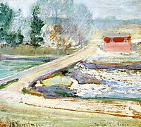 View from the Holley House, c.1901, twachtman