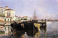 View of Venice, 1877, twachtman