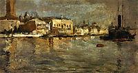 View of Venice, 1878, twachtman
