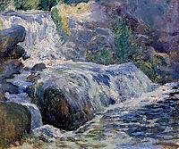 Waterfall, 1899, twachtman