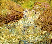 Waterfall, Greenwich, c.1899, twachtman