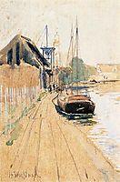Waterside Scene, c.1889, twachtman