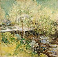 The White Bridge, c.1900, twachtman