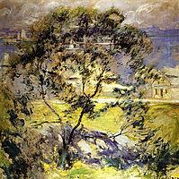 Wild Cherry Tree, c.1901, twachtman
