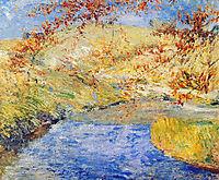 The Winding Brook, 1890, twachtman