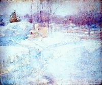 Winter, c.1890, twachtman