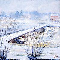 Winter, c.1898, twachtman