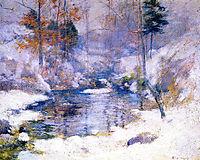 Winter Harmony, c.1900, twachtman