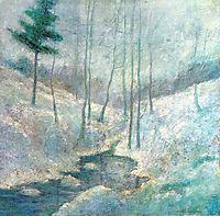 Winter Landscape, twachtman