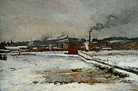 Winter Landscape, 1882, twachtman