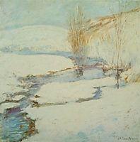 Winter Landscape, 1900, twachtman