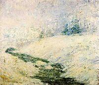 Winter Scene, c.1895, twachtman