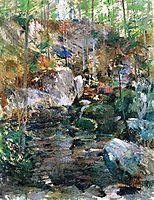 Woodland-Stream, twachtman