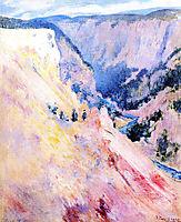 Yellowstone Park, 1895, twachtman