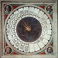 24 hours clock, uccello