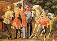The Adoration of the Magi, 1435, uccello