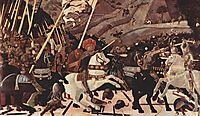 The Battle of San Romano, 1440, uccello