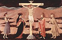 Christ on cross, 1438, uccello