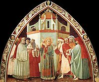 Disputation of St Stephen, c.1435, uccello