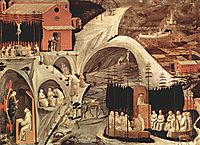 Episodes of the hermit life, 1460, uccello