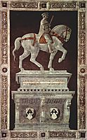 Equestrian Monument of Sir John Hawkwood, 1436, uccello