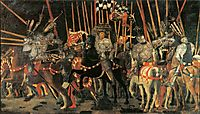 The intervention of Micheletto Cotignola, 1438, uccello
