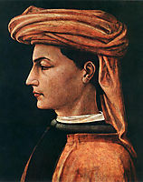 Portrait of a Young Man, 1440, uccello