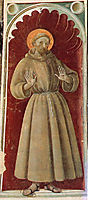 St.Francis, c.1435, uccello