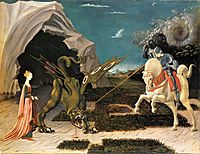 St. George and the Dragon, c.1470, uccello