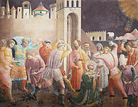 Stoning of St.Stephen, c.1435, uccello