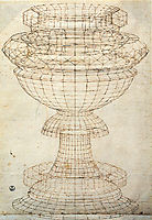 Vase in perspective, uccello