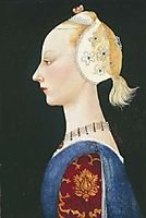 A Young Lady of Fashion, 1464, uccello