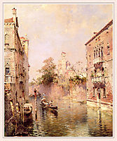 Rio Santa Barnaba, Venice, unterberger