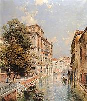 A View in Venice, Rio S. Marina, unterberger