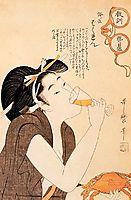 Japanese Domestic Scene, utamaro