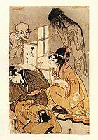 One Hundred Stories of Demons and Spirits, utamaro