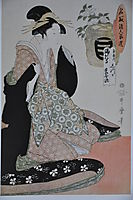 One out of a series of six, utamaro