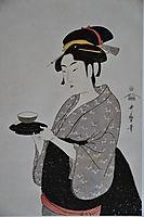 Portrait of Naniwaya Okita, 1793, utamaro