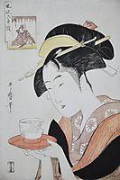 Portrait of Naniwaya Okita, c.1796, utamaro