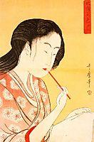 Portrait of a Woman, utamaro