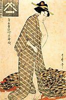 Reigning Beauty Hanozuma, utamaro