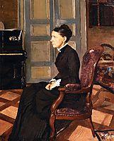 The Artist`s Mother, 1884, vallotton