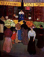 At the Market, 1895, vallotton