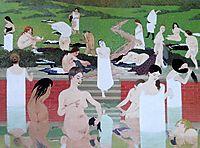 The Bath, Summer Evening, 1892, vallotton